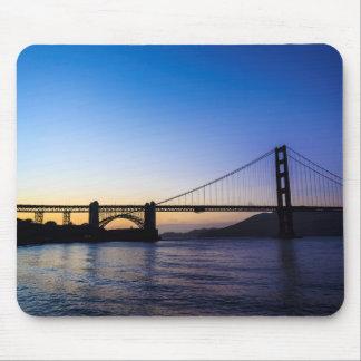 Golden Gate Bridge Sunset Mousepad