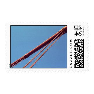 Golden Gate Bridge Suspension Cable – Medium Postage Stamp