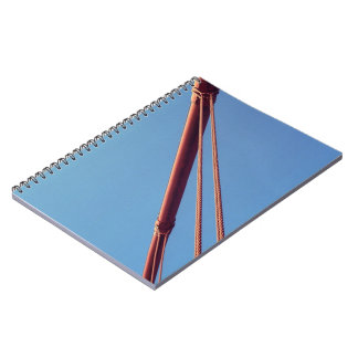 Golden Gate Bridge Suspension Cable Spiral Notebook