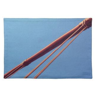 Golden Gate Bridge Suspension Cable Place Mats