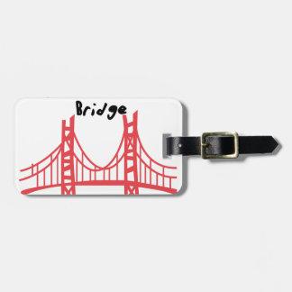 Golden Gate Bridge Tag For Luggage