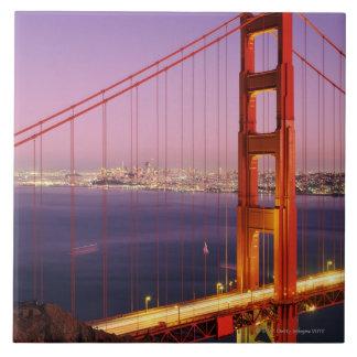 Golden Gate Bridge Large Square Tile