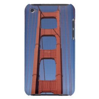 Golden Gate Bridge Tower against blue sky iPod Touch Case-Mate Case