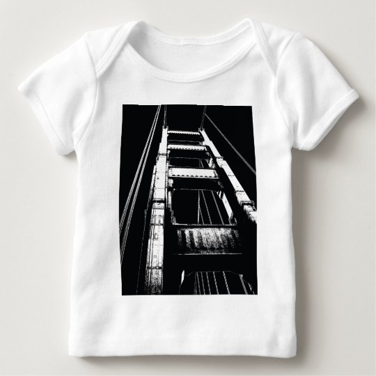 Golden Gate Bridge Tower(o) Baby T-Shirt