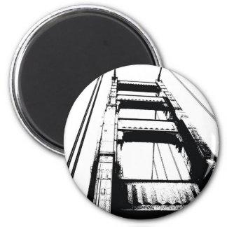Golden Gate Bridge Tower(o) Magnet