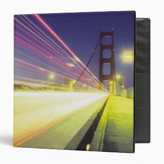 Golden Gate Bridge, traffic lights, San 3 Ring Binders