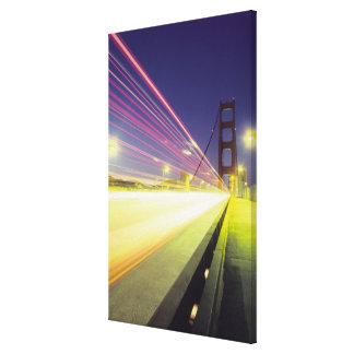 Golden Gate Bridge, traffic lights, San Stretched Canvas Prints