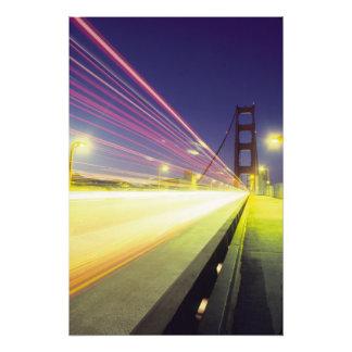Golden Gate Bridge, traffic lights, San Photo