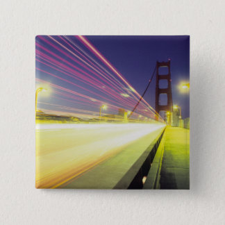 Golden Gate Bridge, traffic lights, San Pinback Button