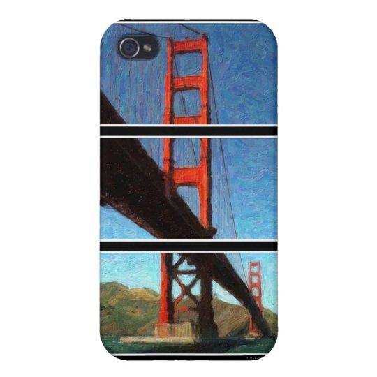 Golden Gate Bridge Triptych iPhone 4/4S Cover