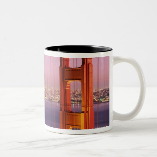 Golden Gate Bridge Two-Tone Coffee Mug
