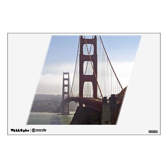 Golden Gate Bridge Wall Decal