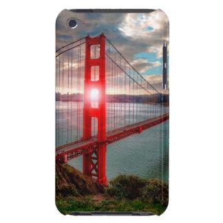 Golden Gate Bridge with Sun Shining through. Case-Mate iPod Touch Case