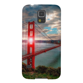 Golden Gate Bridge with Sun Shining through. Galaxy S5 Case