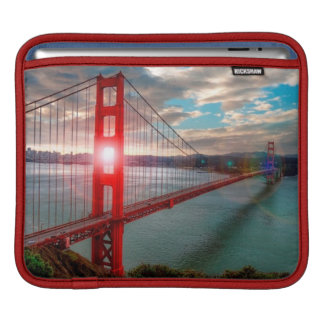 Golden Gate Bridge with Sun Shining through. Sleeves For iPads