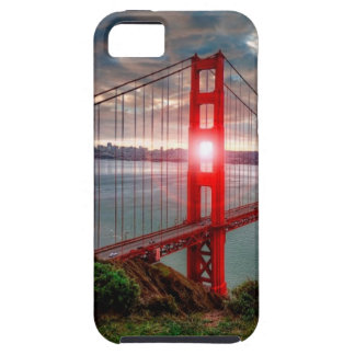 Golden Gate Bridge with Sun Shining through. iPhone SE/5/5s Case