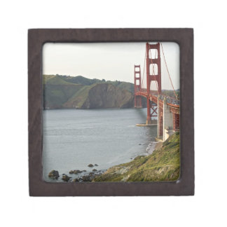 Golden Gate bridge with view to Marin County Jewelry Box