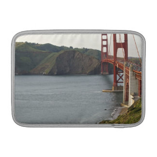Golden Gate bridge with view to Marin County MacBook Sleeve
