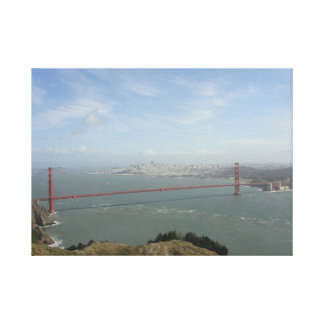 Golden Gate Bridge Wrapped Canvas