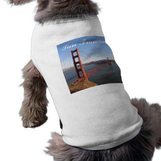 Golden Gate, camisa del perro de San Francisco Camisas De Perritos