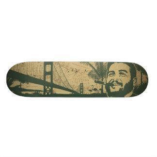 Golden Gate Che Guevara Skateboard Deck