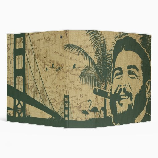 Golden Gate Che Guevara Vinyl Binders