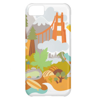 Golden Gate Cover For iPhone 5C