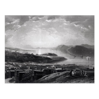Golden Gate de la colina del telégrafo Tarjetas Postales