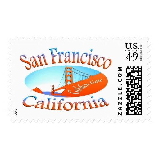 Golden Gate de San Francisco Franqueo