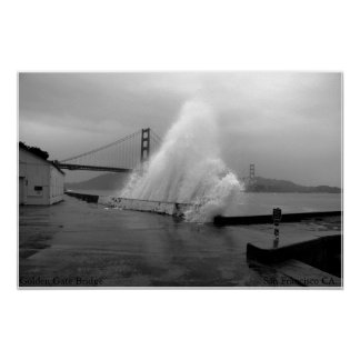 Golden Gate de San Francisco Poster