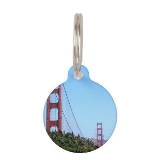 Golden Gate de San Francisco Placa Para Mascotas