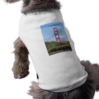 Golden Gate de San Francisco Playera Sin Mangas Para Perro
