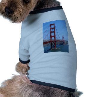 Golden Gate de San Francisco Camisetas Mascota