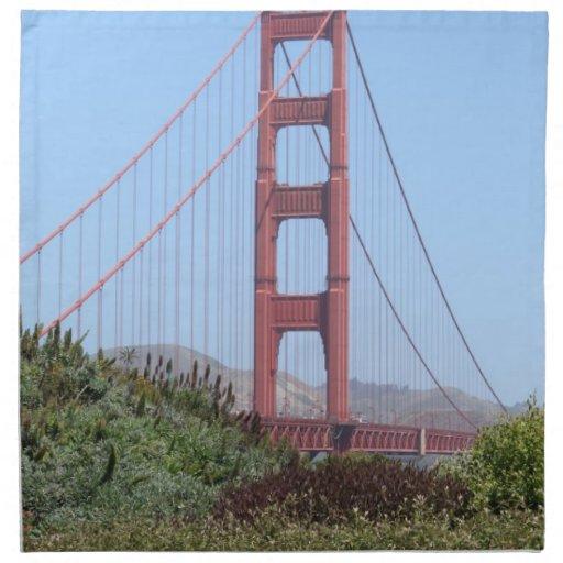 Golden Gate de San Francisco Servilletas