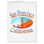 Golden Gate de San Francisco Tarjeta