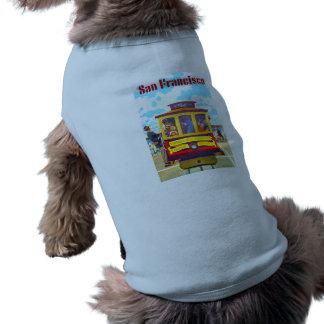 Golden Gate del coche de carretilla de San Playera Sin Mangas Para Perro