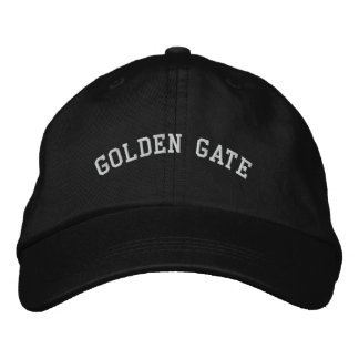 Golden Gate Embroidered Hats
