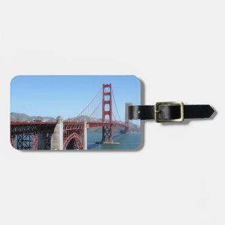 Golden Gate Etiquetas Maleta