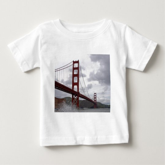 Golden Gate from Fort Point Baby T-Shirt