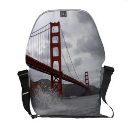 Golden Gate from Fort Point Courier Bag