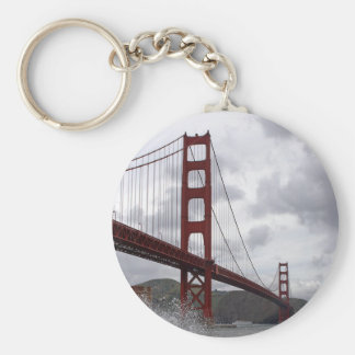 Golden Gate from Fort Point Key Chain
