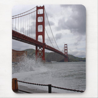 Golden Gate From Fort Point Mouse Pad