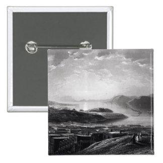 Golden Gate, from Telegraph Hill Pinback Button