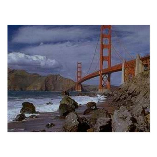 Golden Gate from the Pacific Postcard