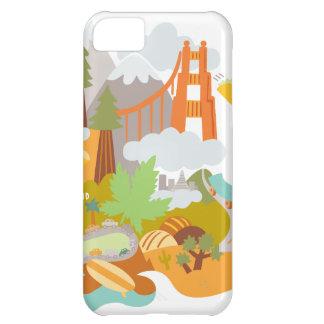 Golden Gate Funda Para iPhone 5C