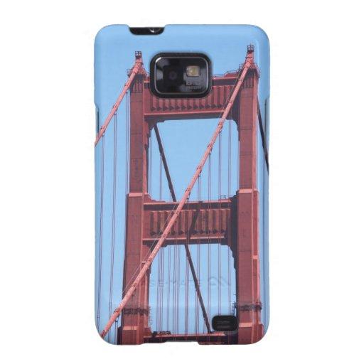 Golden Gate Galaxy S2 Carcasas