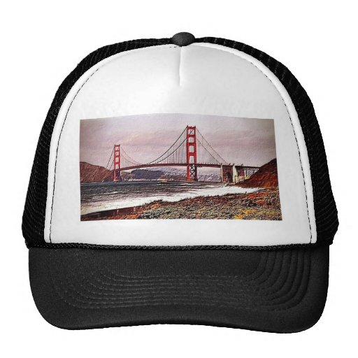 Golden Gate Gorras De Camionero