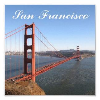 Golden Gate, impresión de la foto de San Francisco