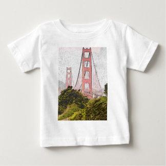 Golden Gate in oil Baby T-Shirt