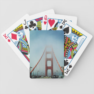 Golden Gate in the Fog Bicycle Playing Cards